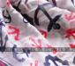 围巾批发 大版外贸围巾 超人气韩版围巾 水手情结 船锚海洋风围巾