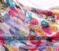 围巾批发 大版外贸围巾 超人气韩版围巾 多元素可爱笑脸围巾